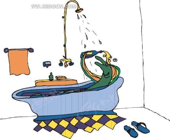鱼 卡通画 插画 手绘 矢量素材 动物图片 卡通形象 动物图片