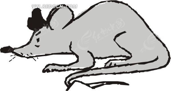 v电捕老鼠机电路图