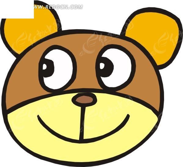卡通 小熊 动物 动物图片 矢量素材 eps