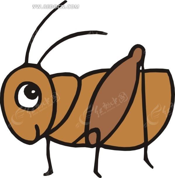 小蚂蚱图片_