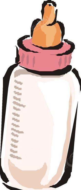 奶瓶卡通画eps免费下载_餐饮美食素材