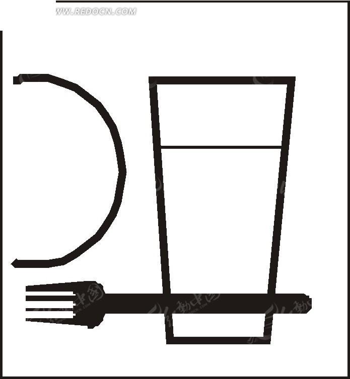 叉子怎么画简笔画