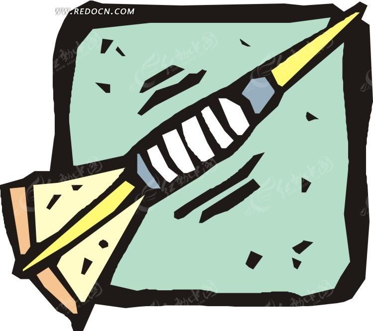 涂鸦飞镖卡通画羽毛球比赛规则发球图片
