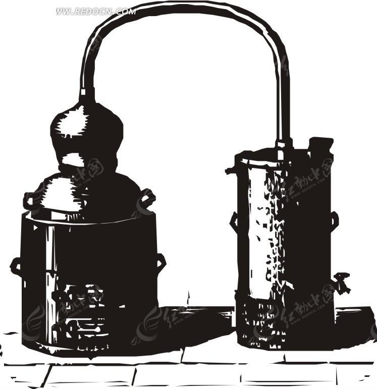 手绘 素材 传感器 工业用 地板手绘  倒影 生活用品 生活百科 矢量