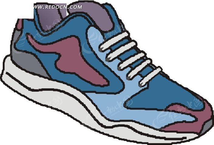 一只手绘鞋子EPS素材免费下载 编号1760357 红动网