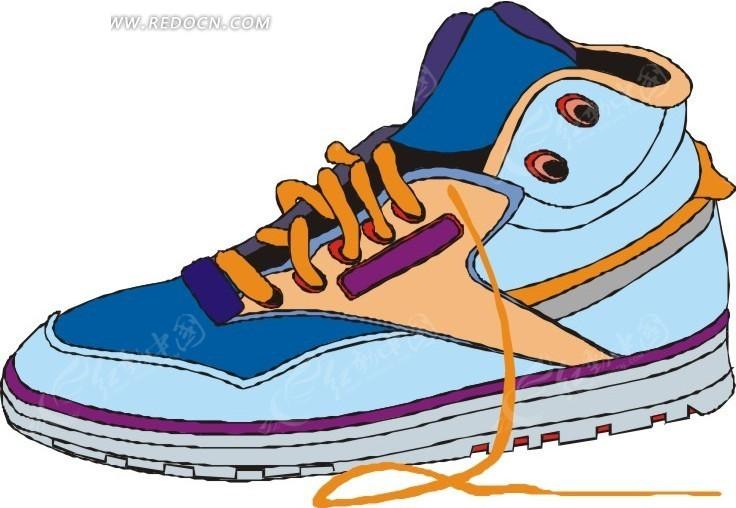 彩色运动鞋
