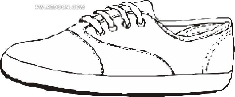 手绘蝎子图片_简单手绘鞋子