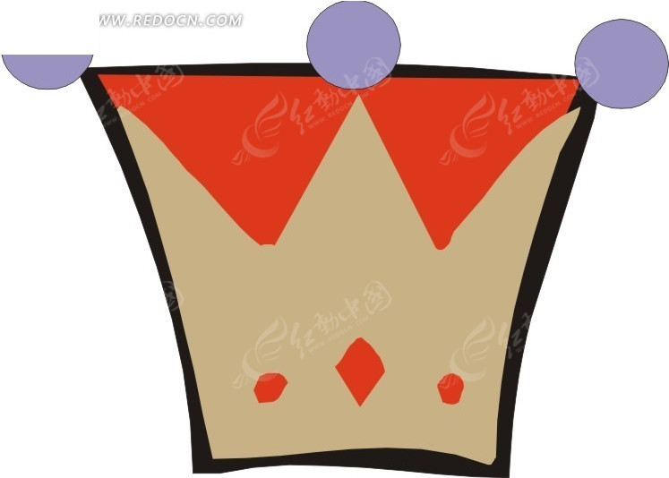 简单手绘皇冠eps素材免费下载(编号1760809)_红动网