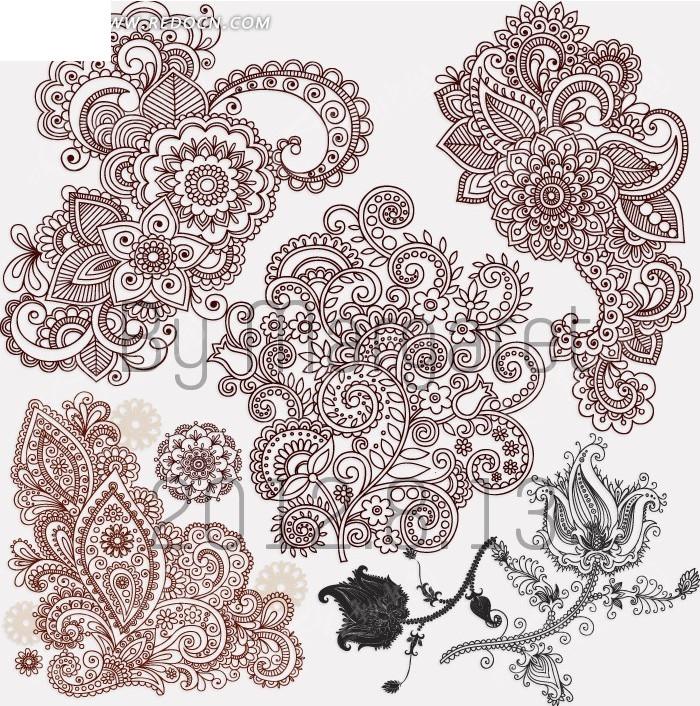 手绘花朵图片铅笔画玫瑰花