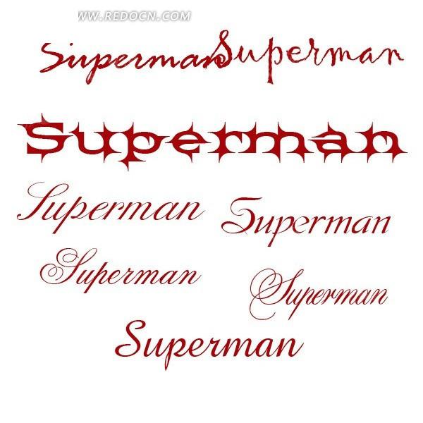 英文花体字体 147种英文花体字装备你的字体库吧其他素材免费下载