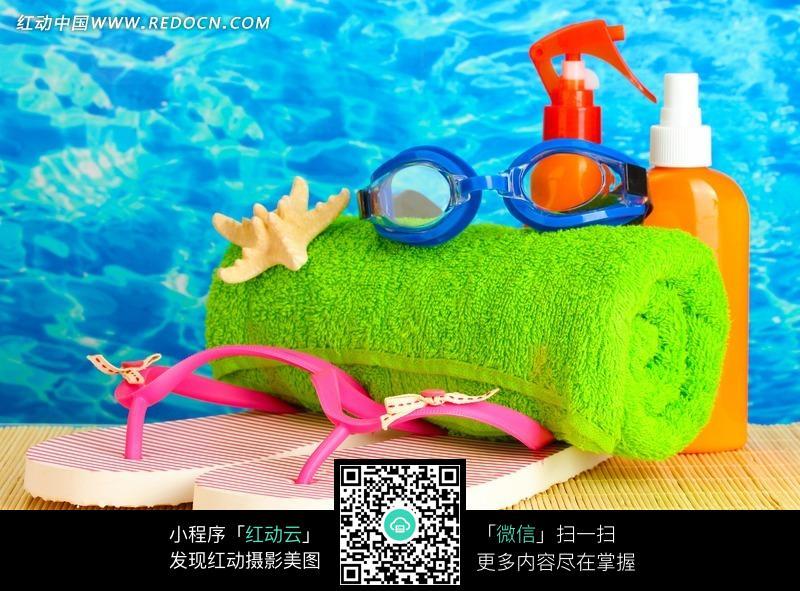游泳沐浴用品圖片圖片