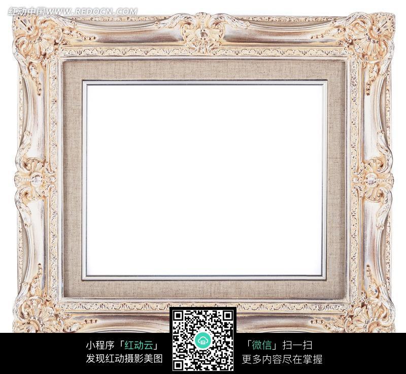 欧式 雕花 相框 边框 生活百科 摄影图片 图片素材 静物摄影 画框