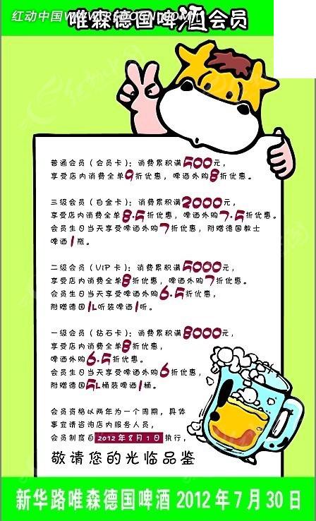 啤酒主题pop手绘广告