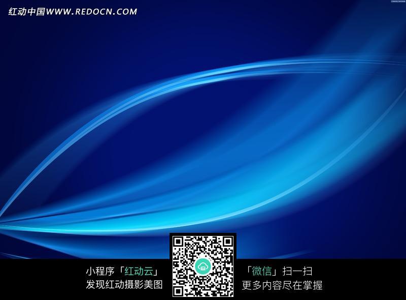 蓝色流畅线条动感科技背景图片_底纹背景图片图片