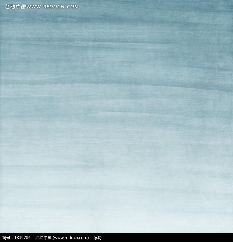 蓝色水墨背景图片