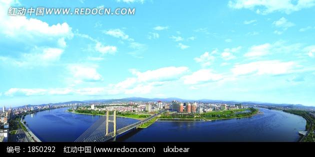 免费素材 图片素材 环境居住 城市风光 吉林市松花江全景