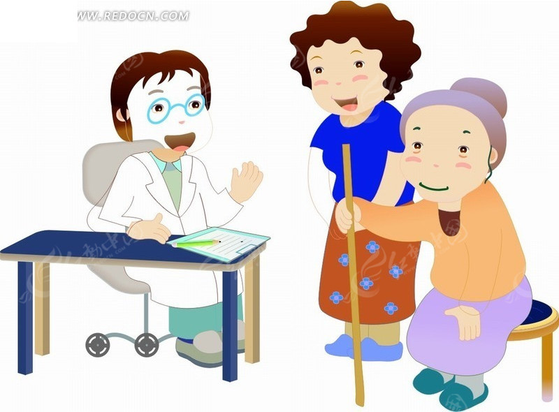 戴眼镜卡通人物图片_戴眼镜卡通人物头像; 医生卡通素材; 戴眼镜的女