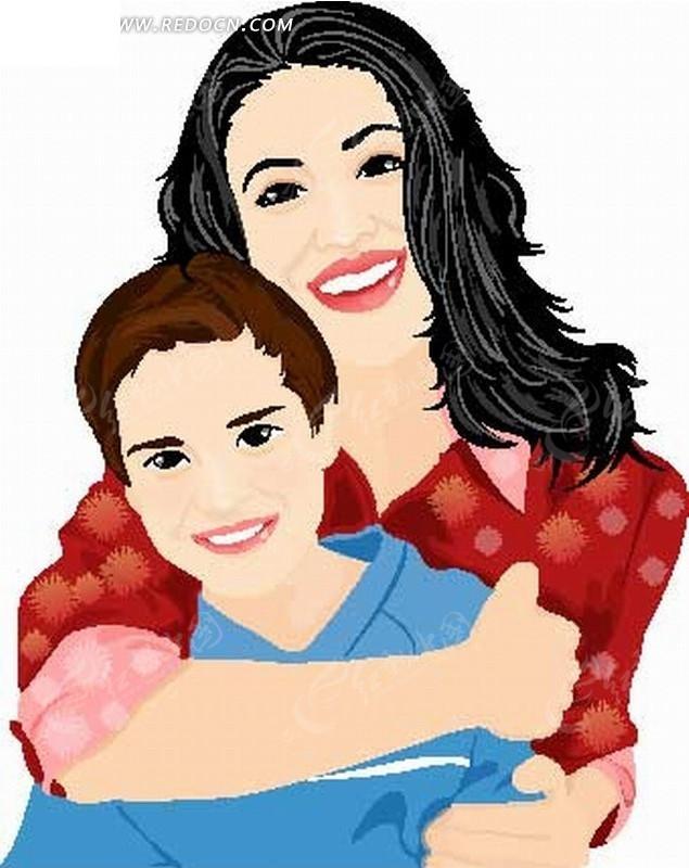 男孩栏杆搂着表情v男孩的人物矢量图插画白敬亭母亲包啃图片