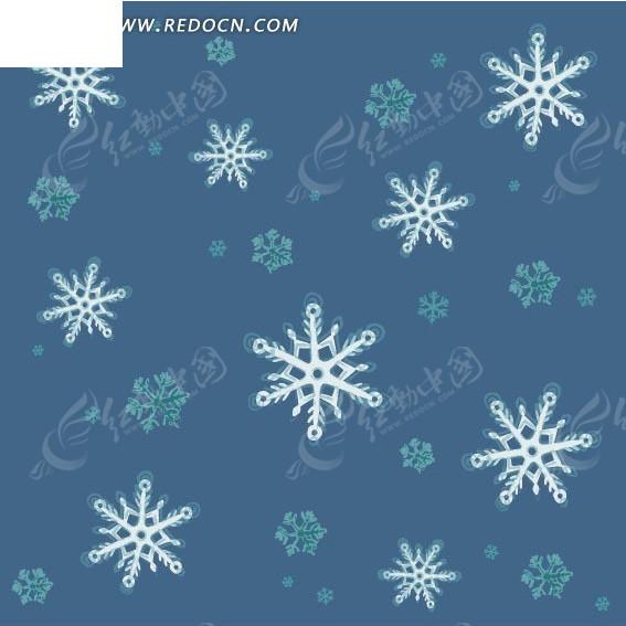 雪花连续底纹背景eps素材免费下载_红动网徐州室内设计纯v雪花图片
