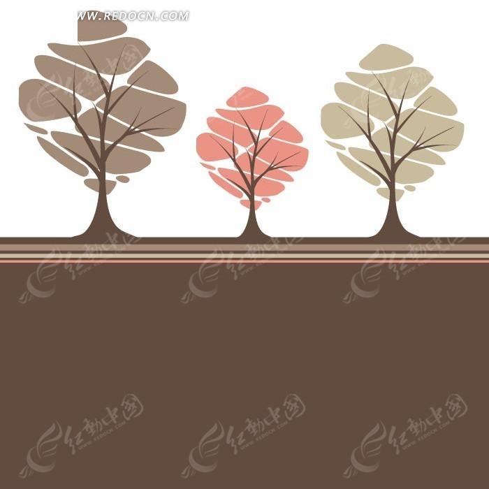 抽象创意树