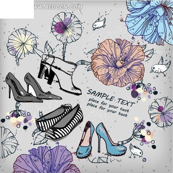 穿鞋的方法图解步骤