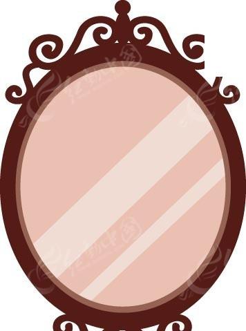 欧式雕花镜子图片