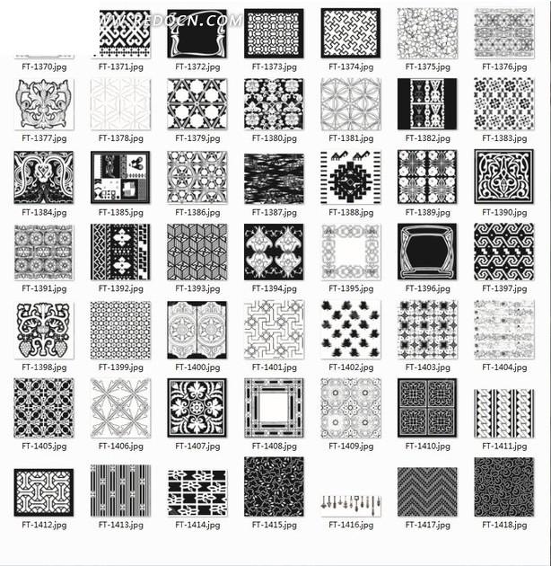 菱形合辑重复底纹和花纹图案以及矩形下面那些命令可以绘制网格图片