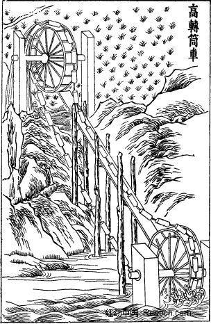 一次性筷子制作筒车