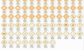 公共信息标志合辑—黄色菱形标志