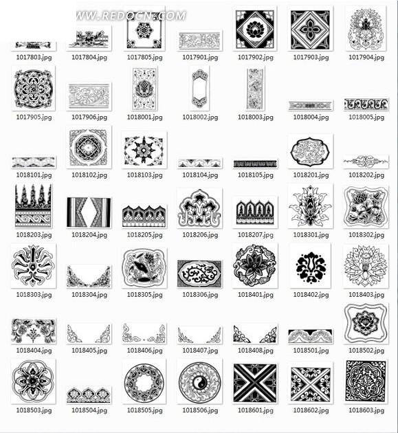 古典花纹 装饰纹 花纹图片