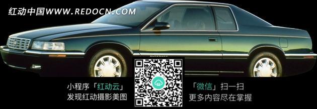 墨绿色单排座小汽车图片