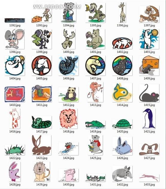手绘动物合集—各种可爱的动物