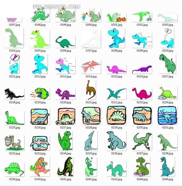 废纸板做恐龙步骤图片