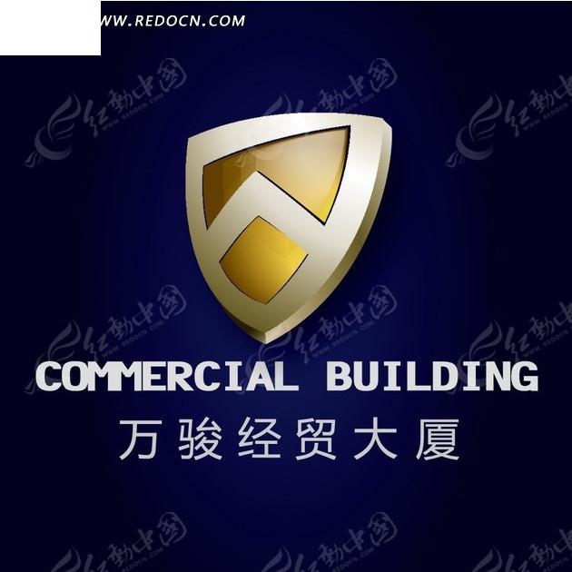盾牌房产标志房地产标志高档标志公司logo公司标志金