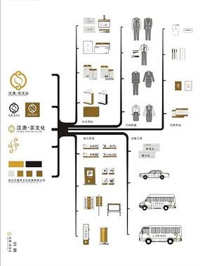 汉唐茶文化 VI树