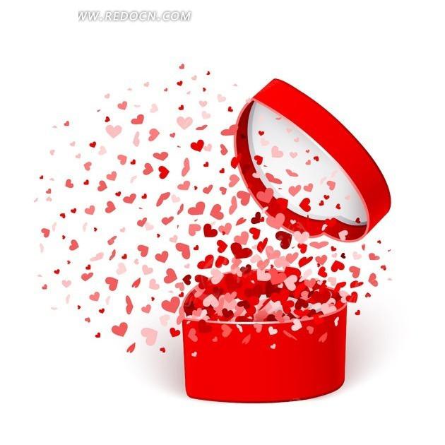 情人节浪漫礼物盒