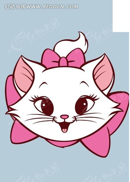 卡通可爱猫咪矢量素材