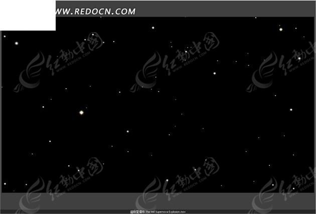 夜空中的星星图片