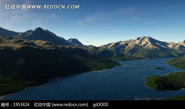 免费素材 图片素材 自然风光 自然风景 群山山脉河流  请您分享: 素材