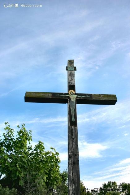 基督被钉在十字架