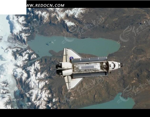 免费素材 视频素材 实拍素材 科学医疗 卫星航拍航天飞机  请您分享