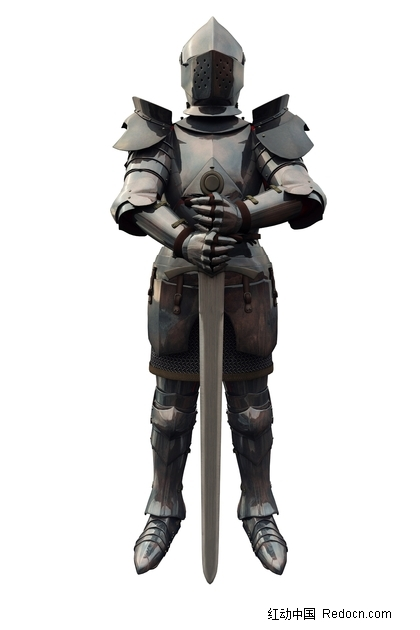 我字的字体设计_手拿巨剑的古代欧洲骑士图片免费下载_红动网