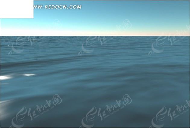 静态水面动态视频背景素材