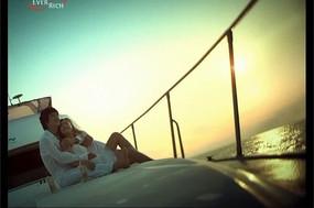 浪漫游轮宣传视频素材