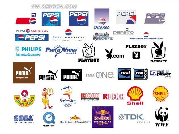 外国品牌_外国品牌标志集合