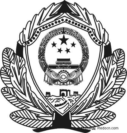 警徽高清大图_2014公安警徽标志公安警徽标志 公安警徽图片