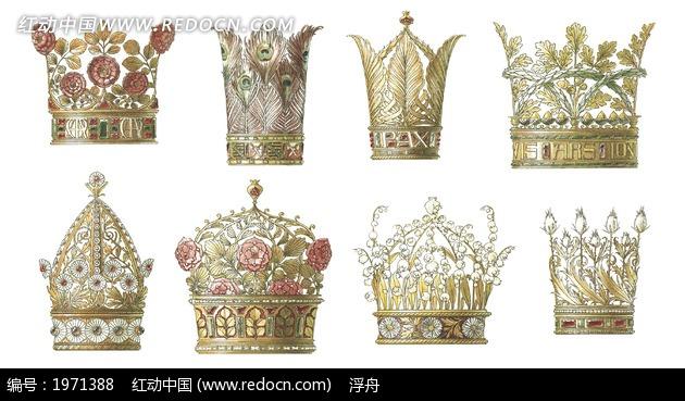 简单手绘皇冠图案