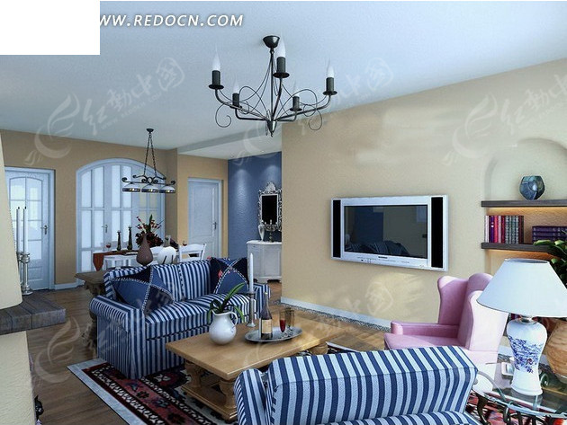 室内设计欧式条纹