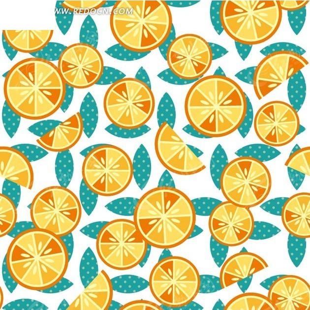 卡通柠檬片_