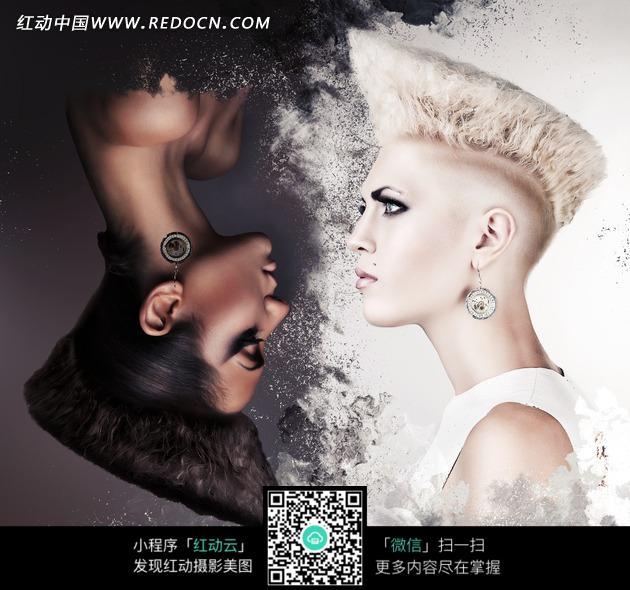 创意时尚发型美女图片图片